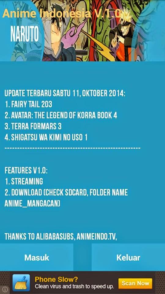 Aplikasi Anime Streaming Indonesia V10
